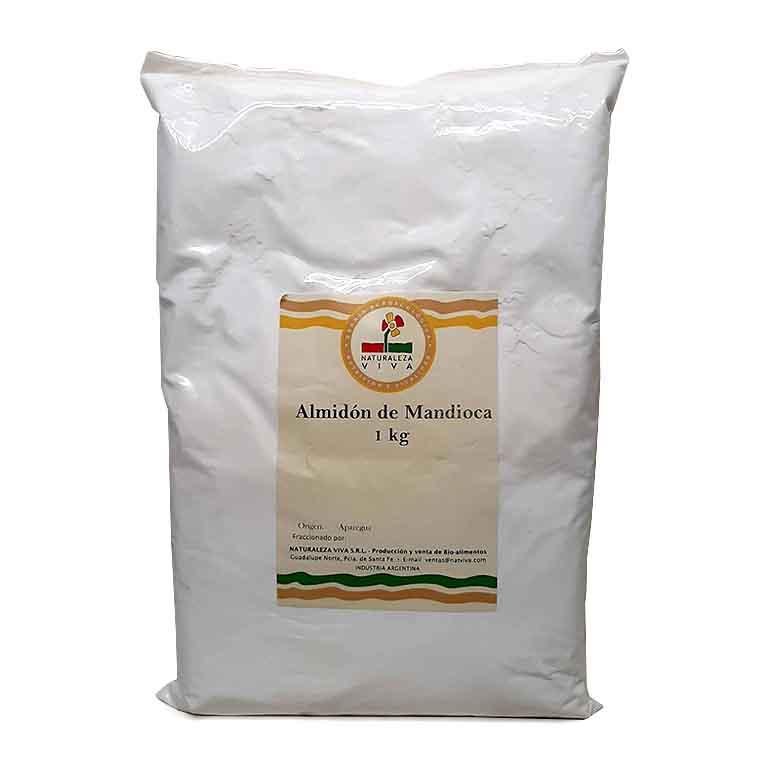 Almidon De Mandioca 1kg La Abundancia Biomarket